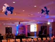 Mitzvah amusement decor
