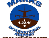 Event logo airplane Mitzvah