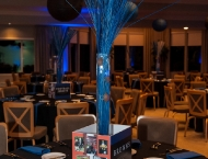 Mitzvah, tradition, many themes, centerpiece, Browns