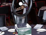 Car theme Bar Mitzvah centerpiece