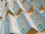 Mitzvah seating cards hobby