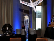 Airplane centerpiece Mitzvah