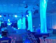 Corporate event anniversary event decor