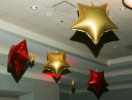 Cleveland Hollywood balloons stars Mitzvah