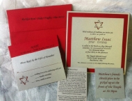 invitation, boy, custom, Ohio State, Mitzvah