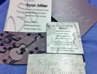 Invitation Bar Mitzvah music rock n roll