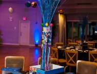 Mitzvah, tradition, many themes, centerpiece, Dylan's, candy, New York